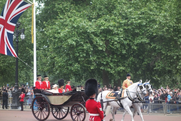 Trooping the Colour - The Queen