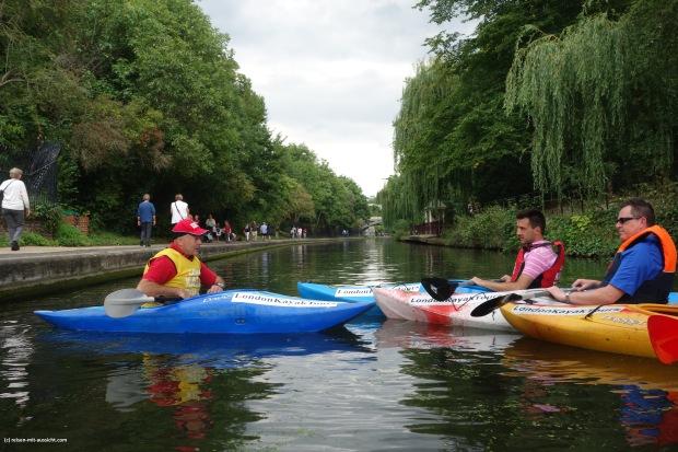 Plausch im Kayak