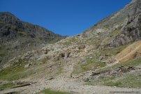 Snowdon_Miners Track Anstieg