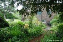 Abergavenny Castle Garten