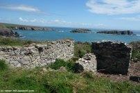 Coastal Path nach Cerfai Bay Ruine