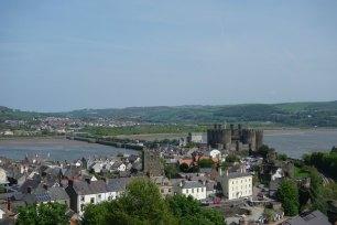 Conwy_Stadtmauer Meer