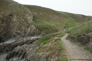 St. Davids_Coastal Path nach New Gale Weg